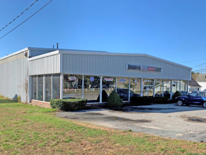 7,584 SF Industrial Building on .50 Acres