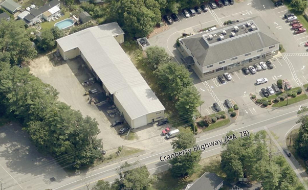 Wareham 2358 Cranberry Highway Aerial