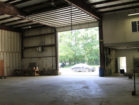 Wareham 2358 Cranberry Highway Interior with Overhead Door